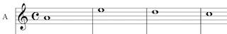 1 part unison music